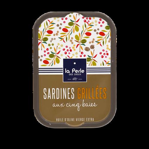 La Perle des Dieux - Gegrilde sardines met peperkorrels