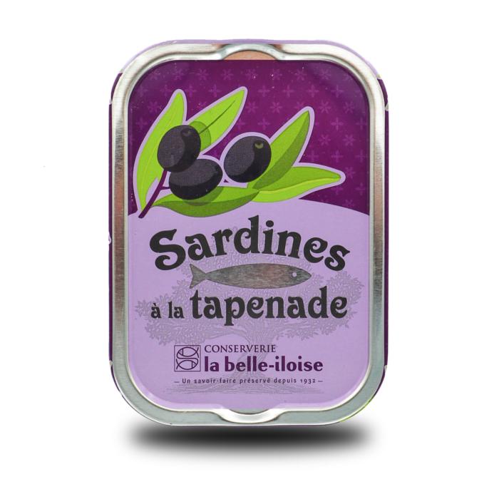La belle-illoise – Sardines met tapenade Millésimées 2018