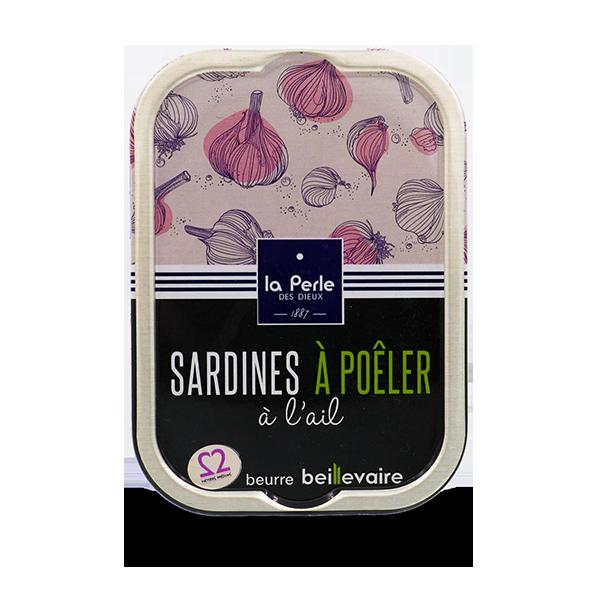 La Perle des Dieux - Sardines in beillevare boter met knoflook