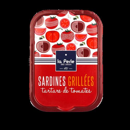 LPDD2001 - Gegrilde sardines met tartaat van tomaat