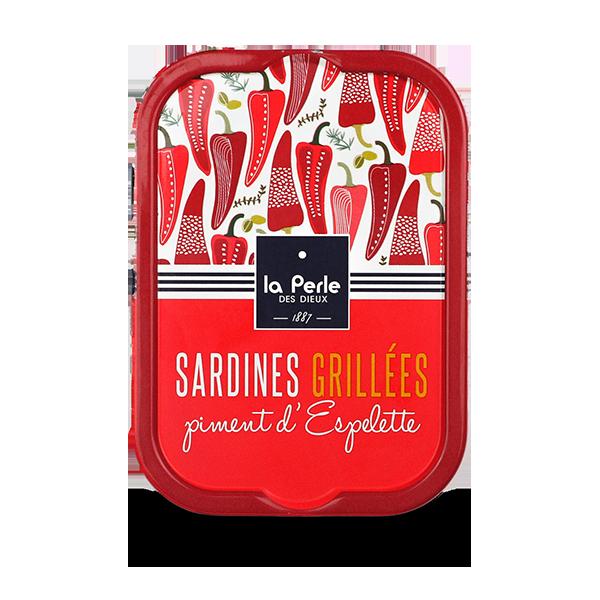 LPDD2003 – Gegrilde sardines met espalette peper