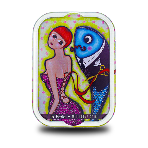 La Perle des Dieux - Sardines Coralie Joulin Millésimées 2016