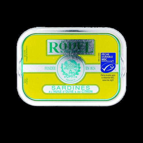 Conserverie Rödel - Sardines op olijfolie met verse citroen