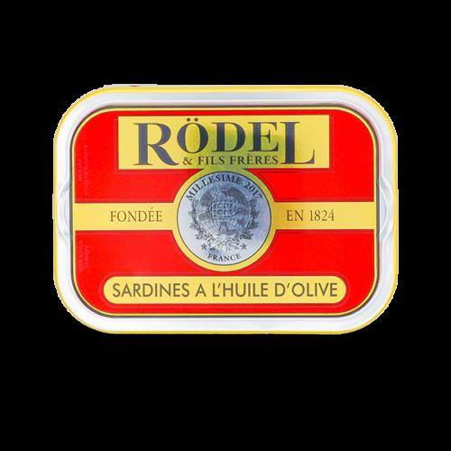 Conserverie Rödel - Sardines op extra vierge olijfolie Millésimées 2017