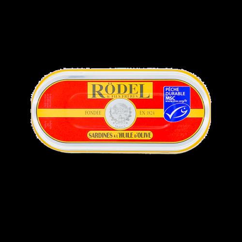 Conserverie Rödel - Sardines in extra vierge olijfolie 46gr.
