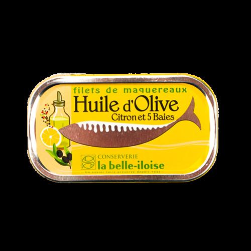 La belle-iloise - Makreelfilet met peper en citroen 112,5gr.
