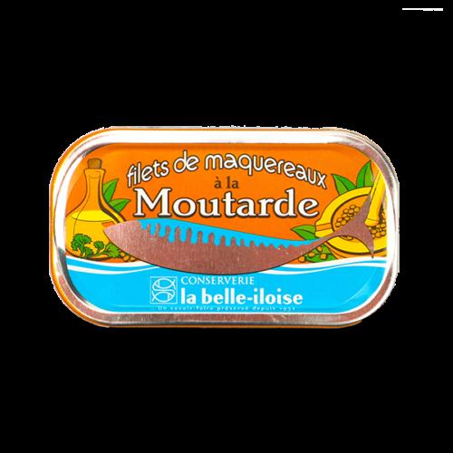 La belle-iloise - Makreelfilet in Franse mosterd 112,5gr.