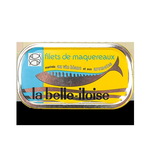 La belle-iloise - Makreelfilet in witte wijn en specerijen 118gr.