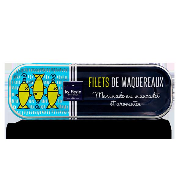 La Perle des Dieux - Makreelfilet in Muscadet met kruiden