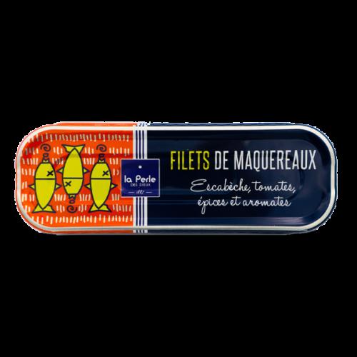 La Perle des Dieux - Makreelfilet in escabeche met tomaat en kruiden