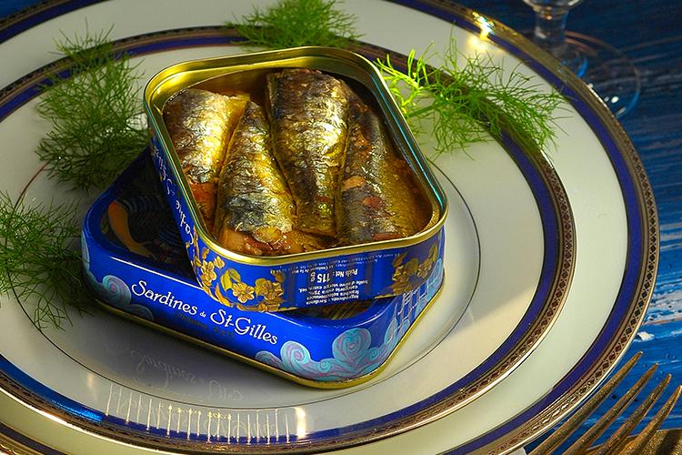 De geschiedenis van de sardine