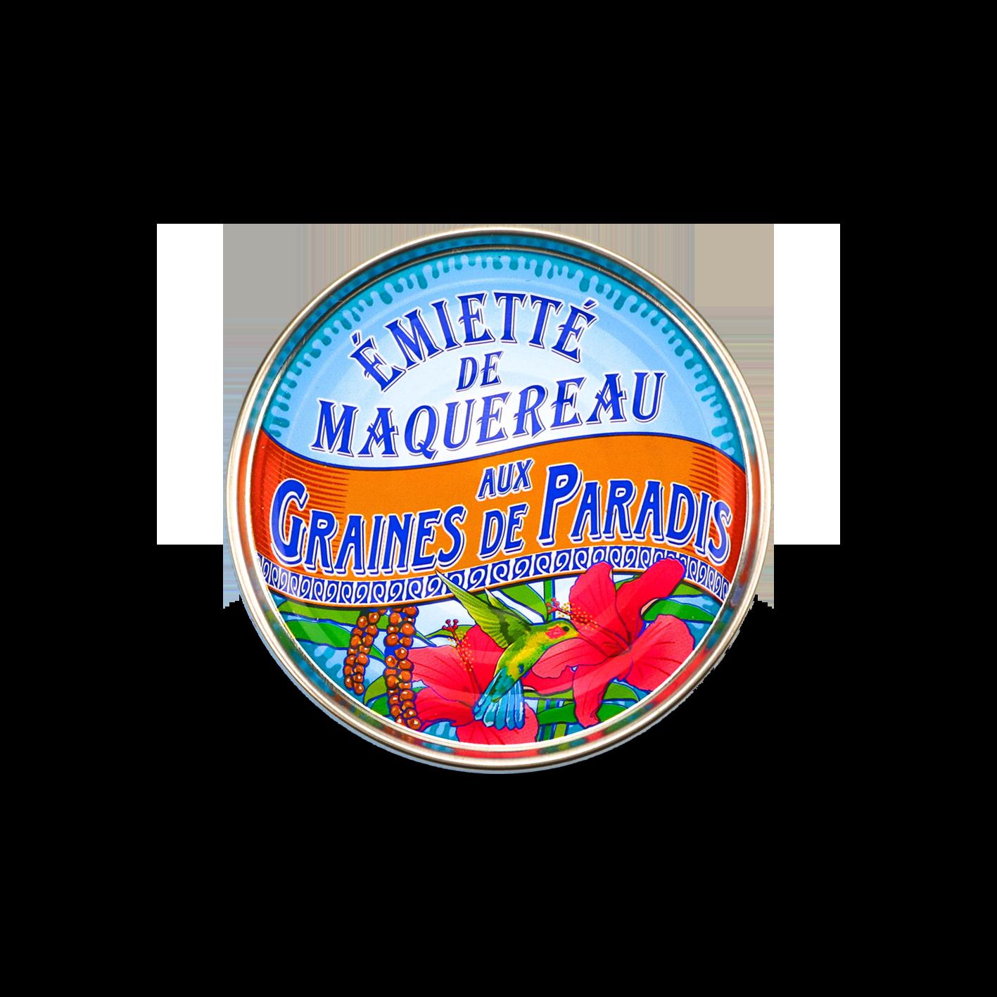La belle-iloise - Émietté van makreel met paradijskorrels 80gr.