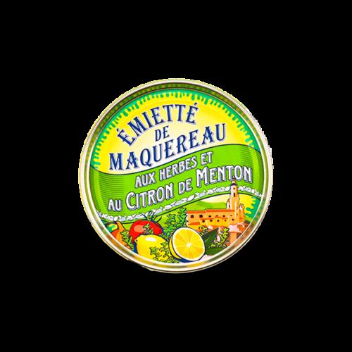 La belle-iloise - Makreel émietté met citroen en kruiden