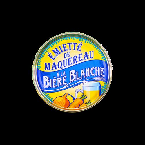 Conserverie La belle-iloise - Makreel émietté met witbier