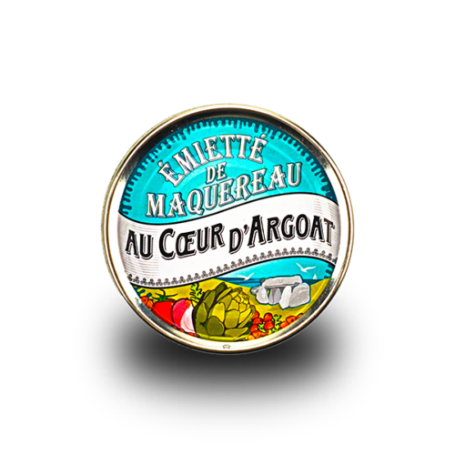 Conserverie La belle-iloise - Makreel émietté met artisjok