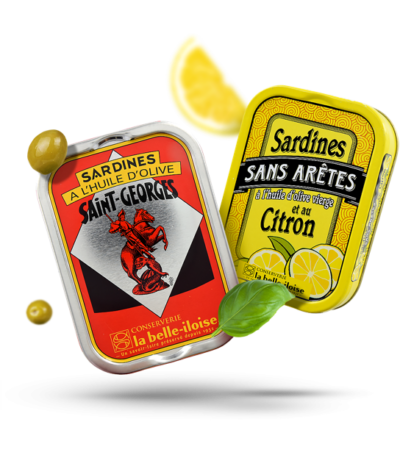 Sardines van La belle-iloise