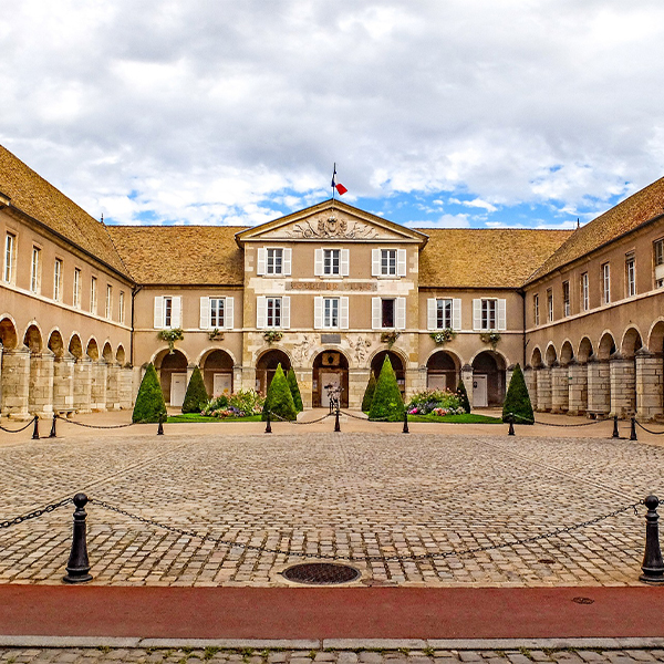 Beaune stadhuis Bourgogne