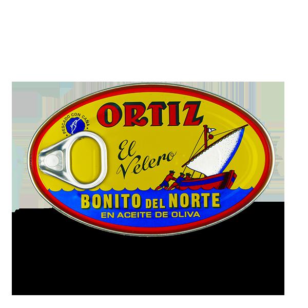 witte tonijn op olijfolie