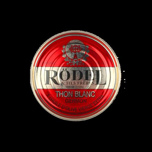 Conserverie Rödel - Witte germon tonijn in olijfolie 160 gr.