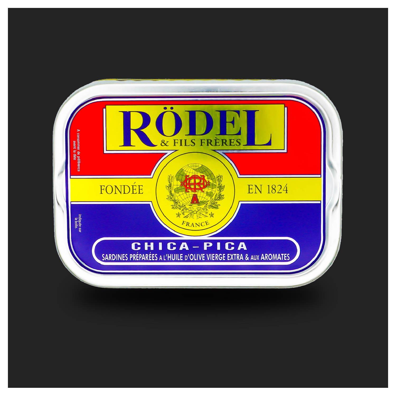 Sardines Chica Pica van conserverie Rödel