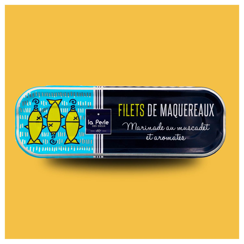 La Perle des Dieux Makreel op Muscadet wijn