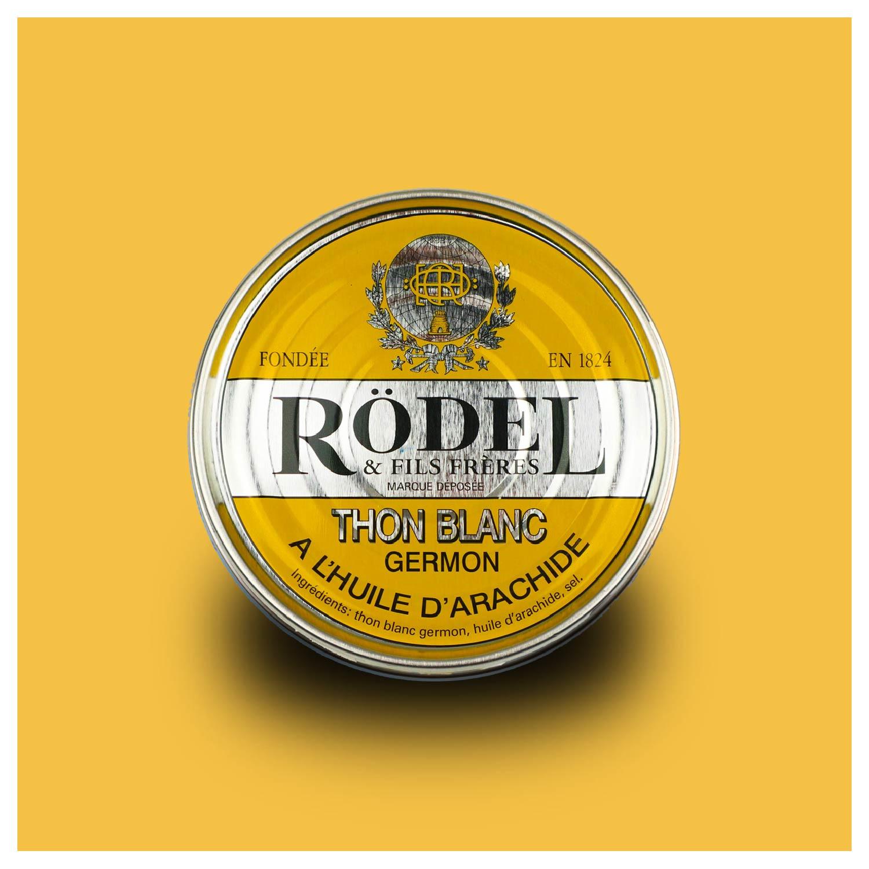 Conserverie Rödel - Witte Germon tonijn in arachide olie