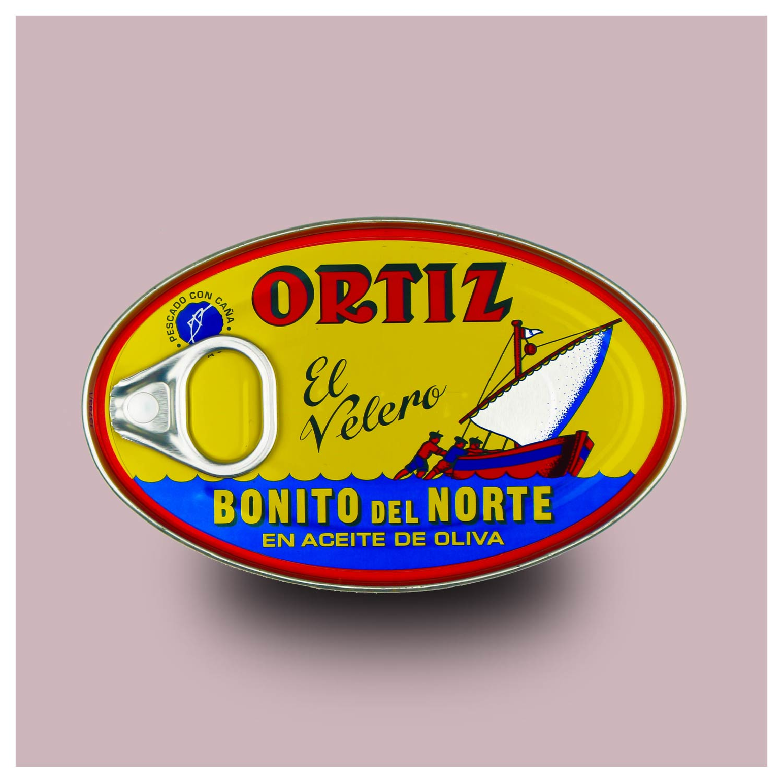 Witte bonito tonijn in olijfolie