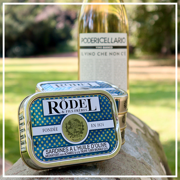 Sardines met witte wijnen uit de Piemonte!