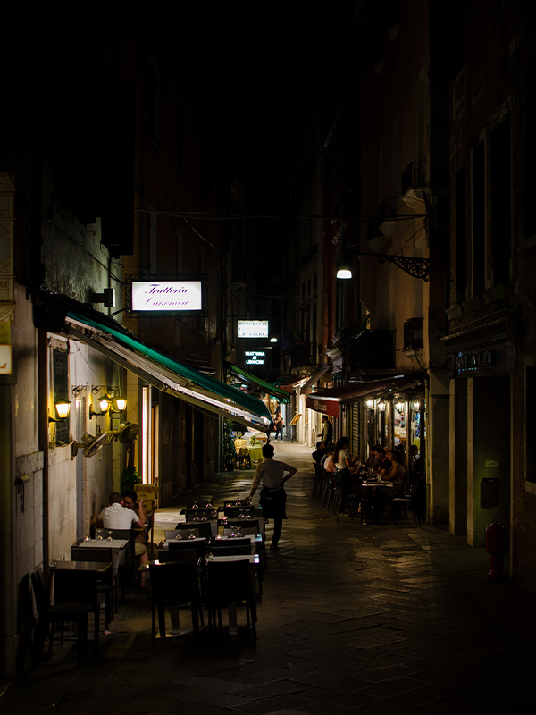 terras Italiaans restaurant