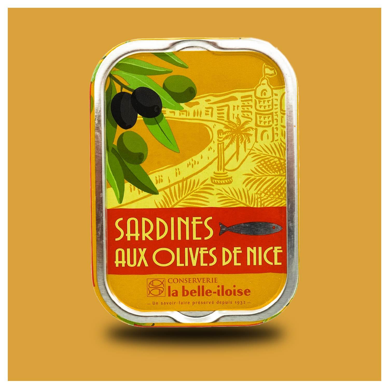 La belle-iloise - sardines met olijven uit Nice