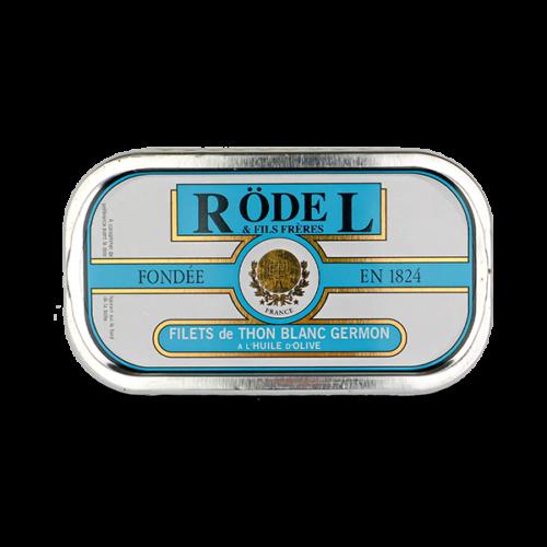 Conserverie Rödel Witte Gemon tonijnfilets 69gr.